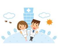 病院に勤務する看護師